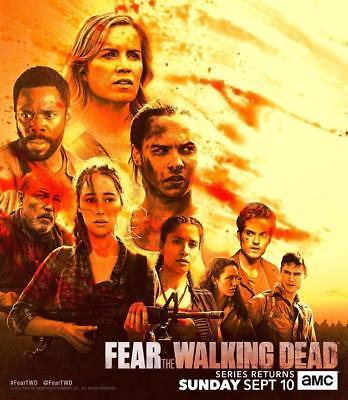 "Fear The Walking Dead Season 3B  AMC TV Poster Art Print 13x20"" 20x30"" 24x36"""