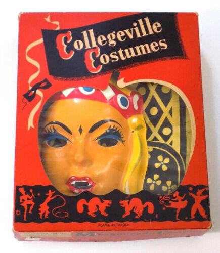 Vintage Collegeville Gypsy Halloween Costume Girl Medium Sz 8-10 50