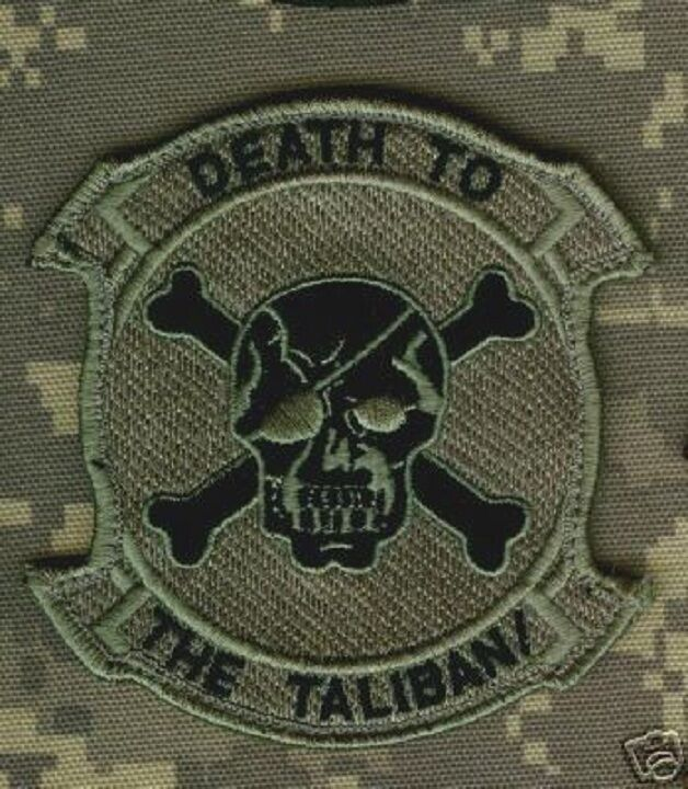 ELITE PROFESSIONAL USMC OPERATOR MORALE VeIcr0 PATCH: DEATH to TALIBAN approved