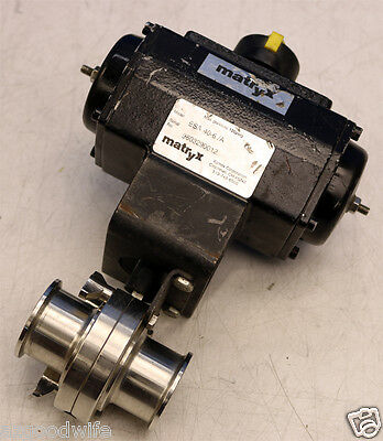Xomox Corporation Matryx Esa 40-6a 1 Inch Actuator