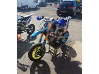 Supermoto pitbike Gp Cube 160cc Cwbikes