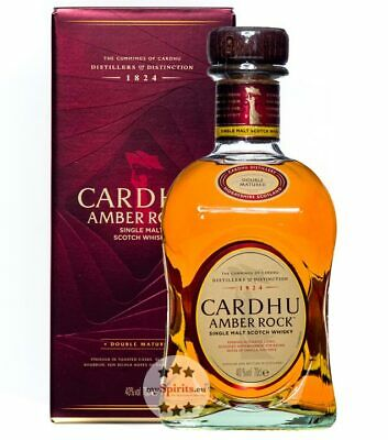 Cardhu Whisky: Amber Rock Scotch Whisky in Geschenkbox / 40% Vol. / 0,7L Flasche