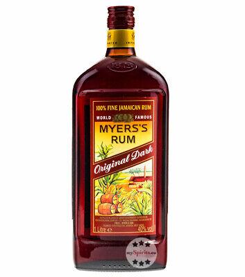 Myers's Rum Original Dark - Fine Jamaican Rum / 40 % Vol. / 1,0 Liter-Flasche