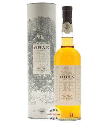 Oban 14 Years West Highland Single Malt Scotch Whisky / 43% vol. / 0,7 L Flasche