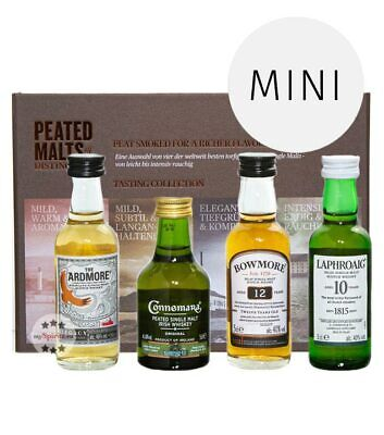 Peated Malts of Distinction Whisky Tasting Collection Probierset / 40 % Vol. / 4