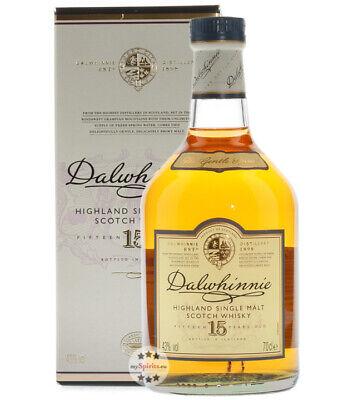 Dalwhinnie 15 Years Highland Single Malt Scotch Whisky Geschenkbox 43% Vol. 0,7L