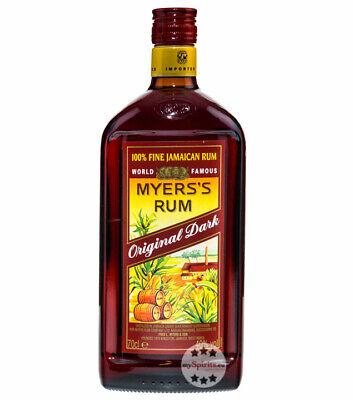 Myers's Rum Original Dark - Fine Jamaican Rum / 40 % Vol. / 0,7 Liter-Flasche