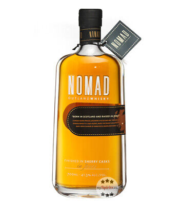 Nomad Outland Whisky Finished in Sherry Casks / 41,3 % Vol. / 0,7 Liter-Flasche