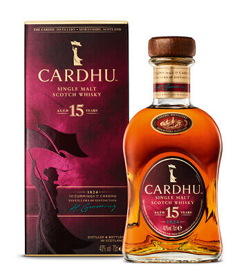Cardhu 15 Years Old Whisky Single Malt Scotch Speyside / 40% Vol. / 0,7L Flasche