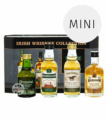 Cooley Irish Whiskey Collection - Probierset / 40 & 43 % Vol. / 4 x 0,05 L in GP