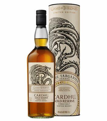 Game of Thrones Whisky Targaryen Cardhu Gold Reserve / 40 % Vol. / 0,7 L in GP