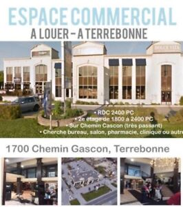 TERREBONNE-Local commercial