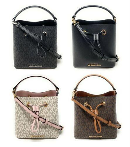 Michael Kors Suri Small Bucket Crossbody Handbag