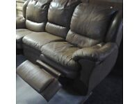 Leather sofa &warm chair