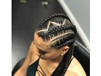 Weaves, frontal, wig making, closure, crochet, feed in braids