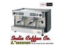 Coffe machine IBERITAL L'ANNA 2GR AUTO , restaurant equipment, free extras