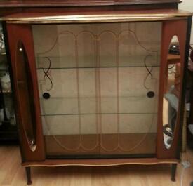 Display cabinet dansette legs
