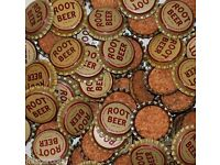Soda pop bottle caps Lot of 25 RUMMY cork lined EARLY ONE unused new old stock