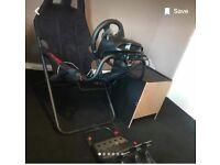 Logitech G920 bundle + Playseat Challange seat