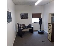 Office space available, with wifi inc, fits 2 work stations