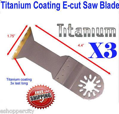 Ti E-cut Oscillating Multitool Saw Blade Milwaukee Ryobi Fein Multimaster Bosch
