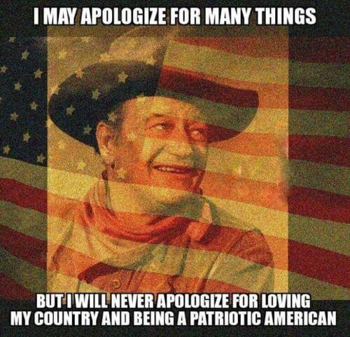 "John Wayne Quote refrigerator magnet 3 ""X3  """