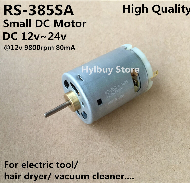 Mabuchi RS-385SA-1885 Small dc motor 12v-24v for blow hair drier Vacuum cleaner