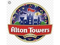 Alton towers family overnight break