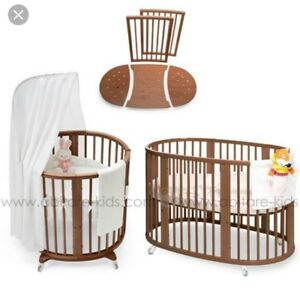 Bassinette stokke mini, sleepi and changing care