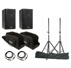 QSC K8 Speaker System Package - Free Shipping - Brand New