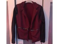 Womans lightweight quilted jacket size 8