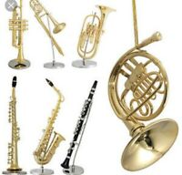 Horn / saxophone player needed