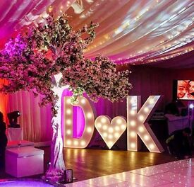 Giant 5ft Light Up Letters for HIRE in Hertfordshire - Weddings & Events - *Prices from £250*