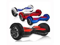 SMART SELF BALANCING HOVERBOARD ELECTRIC SCOOTER SEGWAY ~ CE CERTIFIED ~ FREE CARRY BAG