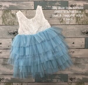New Layered Tulle Dress