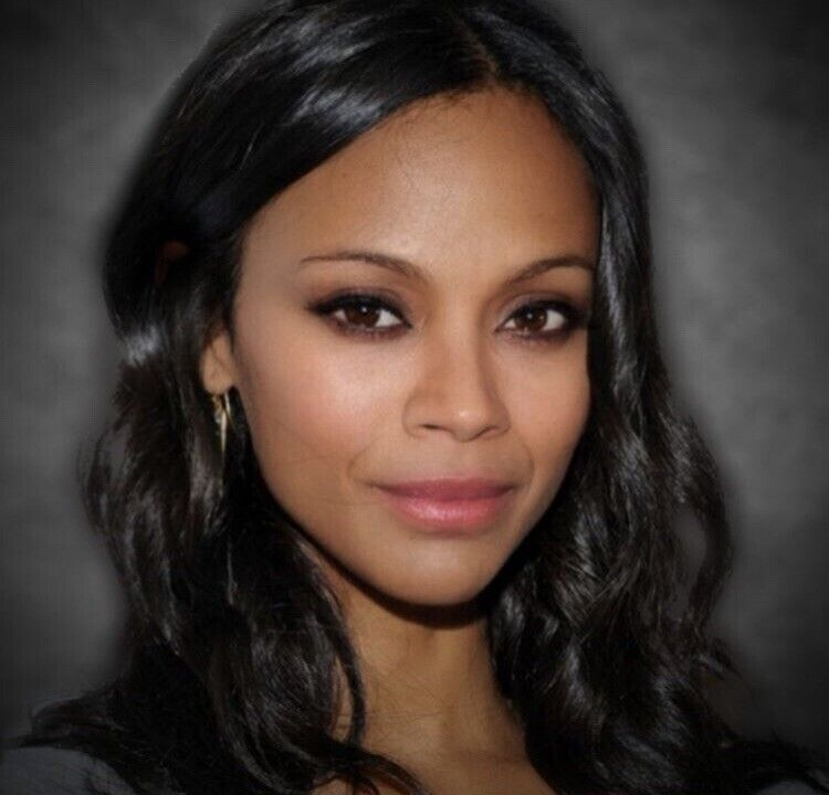 Zoe Saldana - Very Nice Headshot !!!