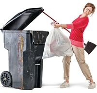 Gross, stinky garbage cans? Let BC Bin Wash do the dirty work!