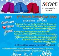 Winter Coat Drive (All Donations Welcomed)