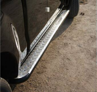 Steel Side Steps Sill Protectors Slider Supplied & Fit from $750