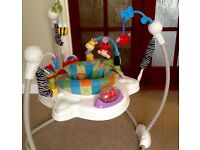Baby Jumperoo (Fisher Price and a baby walker (Greco) TWO ITEMS FOR SALE FOR ONE PRICE £40.00