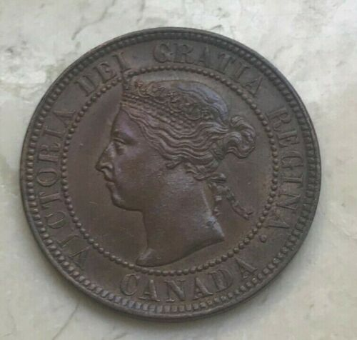 1897 Canada 1 One Cent - Uncirculated Copper