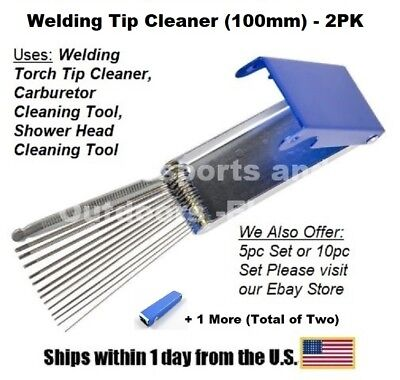 Tip Cleaner-100mm For Oxygenacetylene For Welding Tips-2 Pack