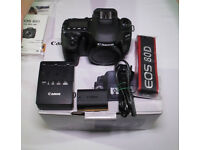Canon EOS 80D Body Only (Bought in July 2017)