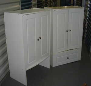 White Kitchen Cupboard with Drawer