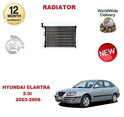 Para Hyundai Elantra 2.0 2003-2006 Nuevo Radiador de Refrigeración Unidad, usado comprar usado  Enviando para Brazil