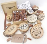 Custom Carved Rubber Stamps