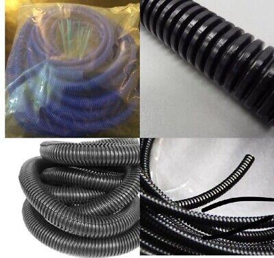 Split Loom Wire Flexible Tubing Conduit Hose Cable Car  3 Asstd Sizes 7/15/22mm