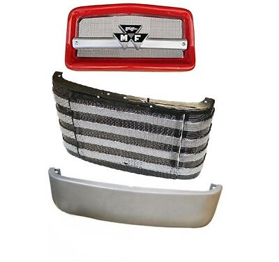 Complete Front Nose Cone Front Grille Pan Massey Ferguson Mf135 Mf20 Mf2135