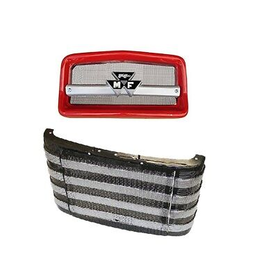 Complete Front Nose Cone Front Grille Massey Ferguson Mf135 Mf20 Mf2135