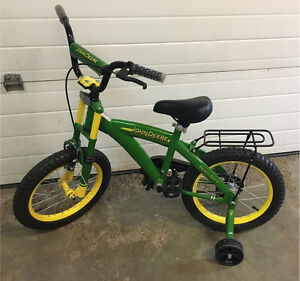 "Brand New - John Deere 16"" Bicycle"